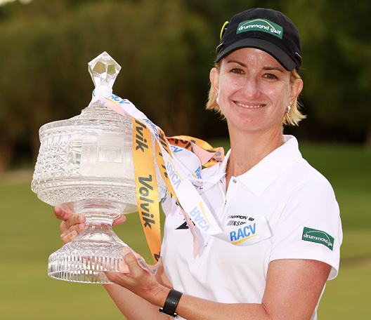 Karrie Webb wins 7th Australian Ladies Masters