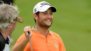 French golfer Alexander Levy wins China Open despite late scare