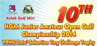 KGM Junior Amateur Open Golf Championship – 9th To 10th June, 2014
