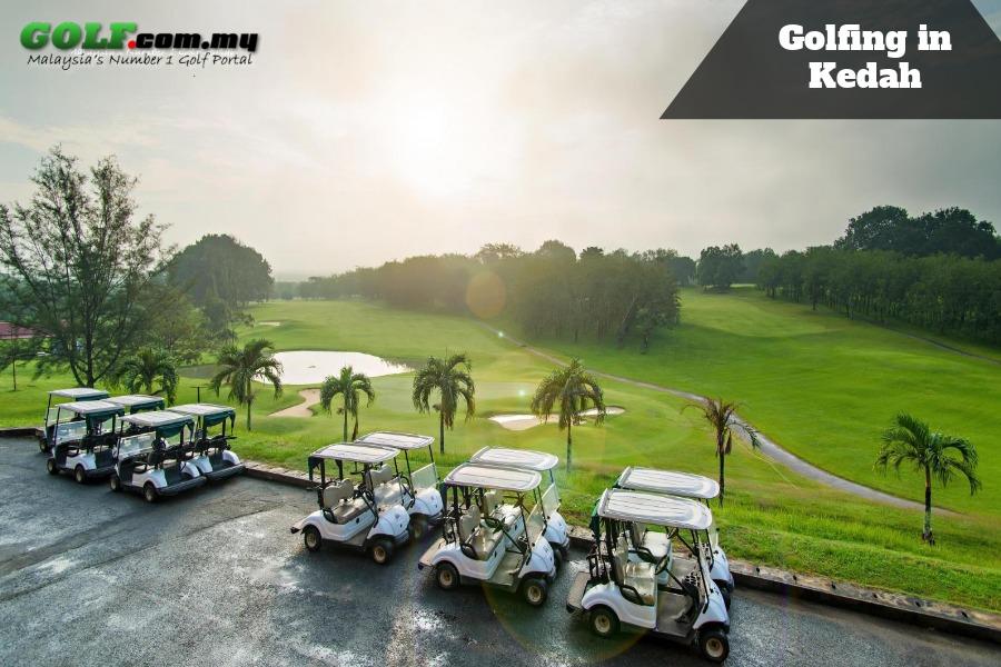 Golfing-in-Kedah