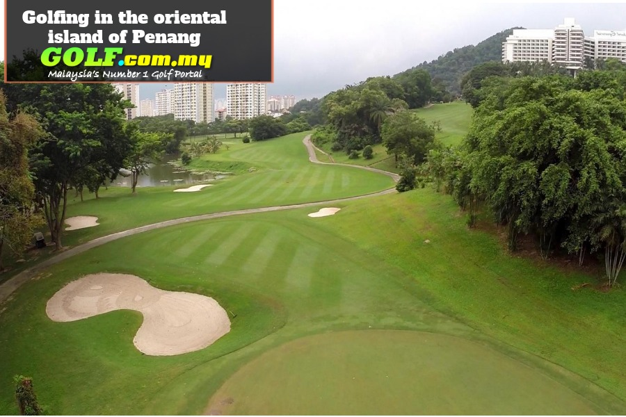 Golfing in the oriental island of Penang