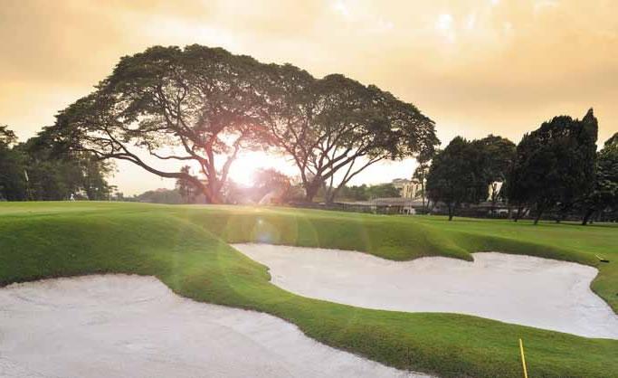 Golfing in Selangor