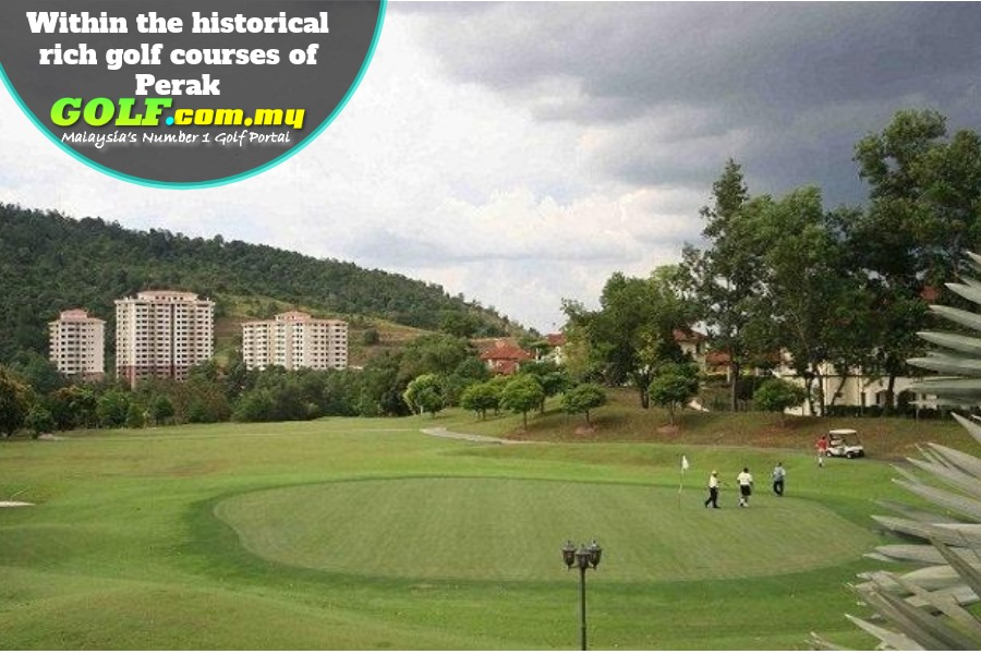 Within the historical rich golf courses of Perak