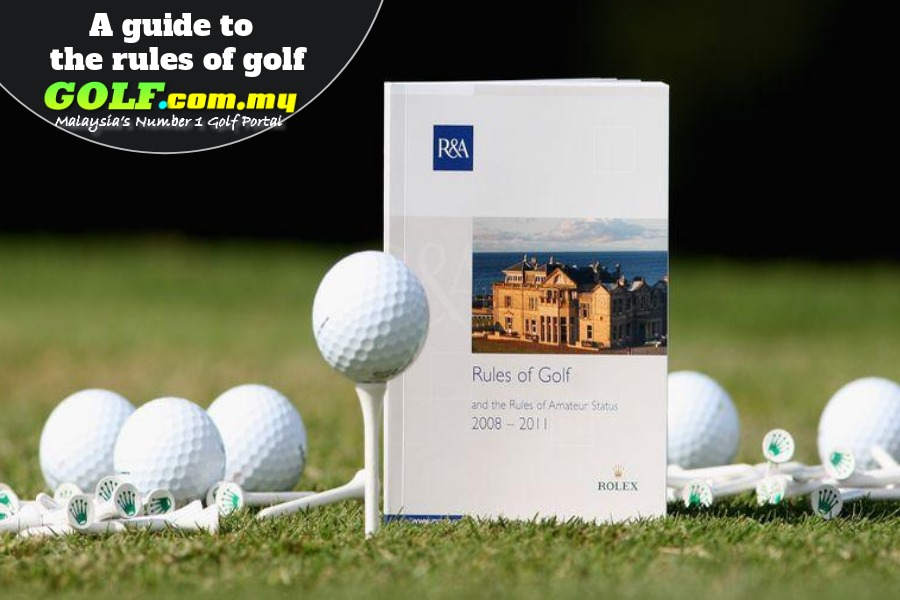 A guide to the rules of golf