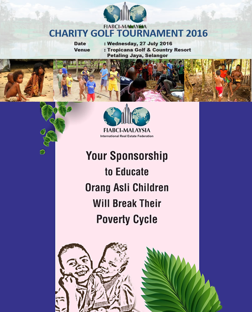 FIABCI Malaysia Charity Golf Tournament 2016