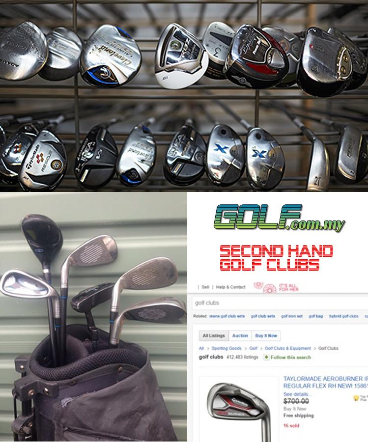 second hand golf malaysia