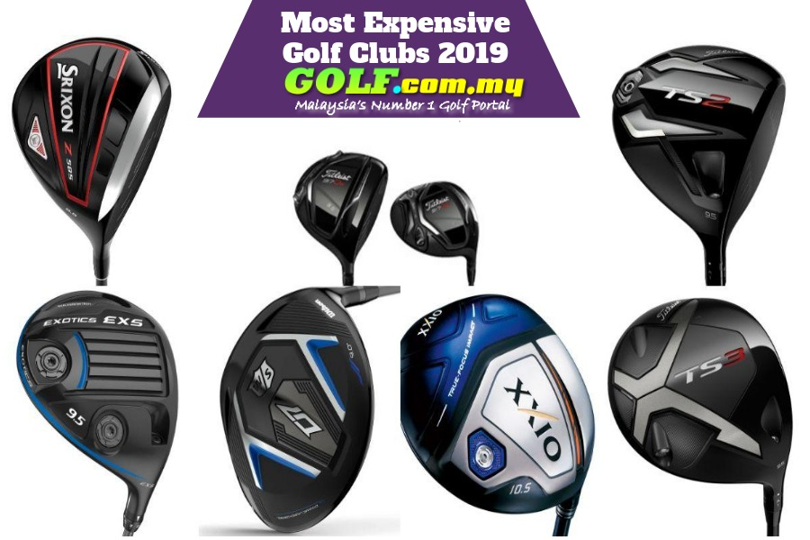 Most Expensive Golf Clubs 2019