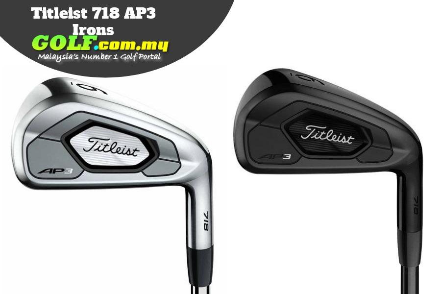 Titleist 718 AP3 Irons - Golf Malaysia Online