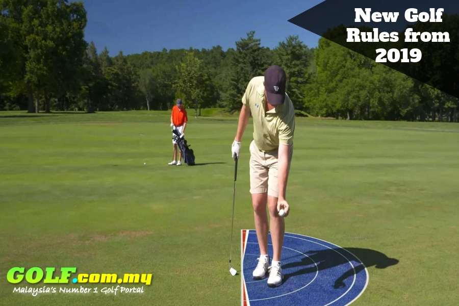 New Golf Rules from 2019