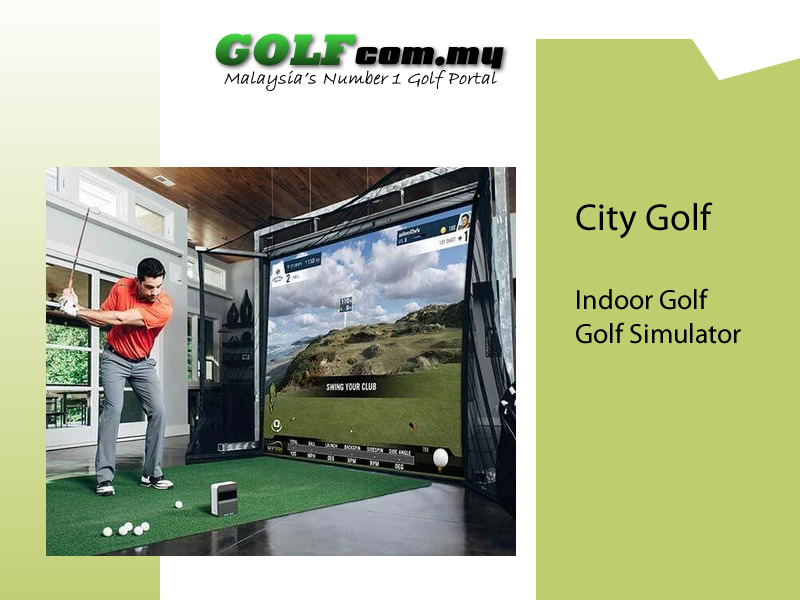 city golf simulator malaaysia